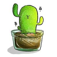 《仙人掌》多肉植物好可愛_異肚。插畫。專欄